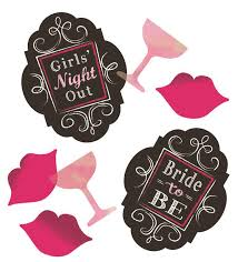 """Night Out Party"" Themed Confetti"