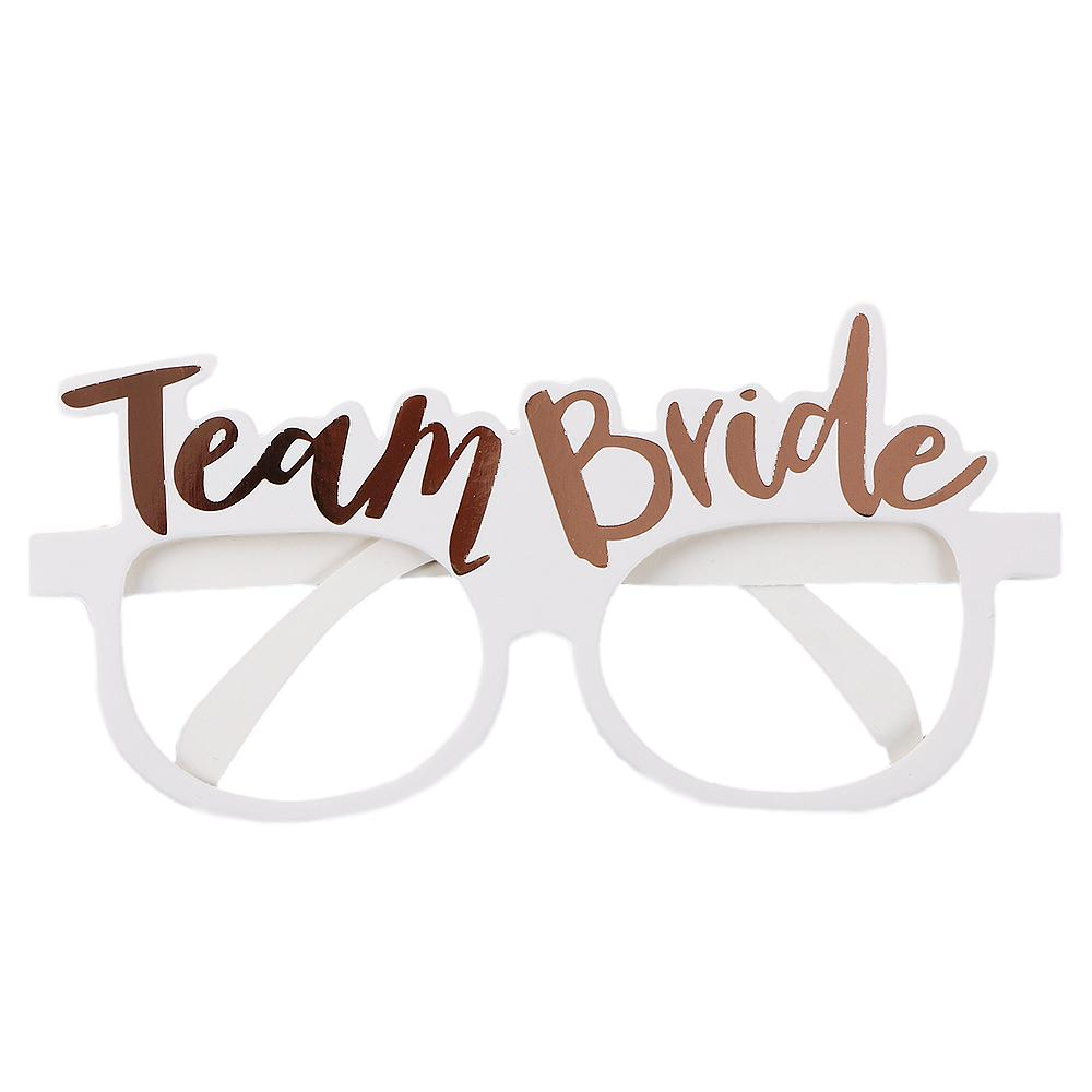 team bride photo glasses canada