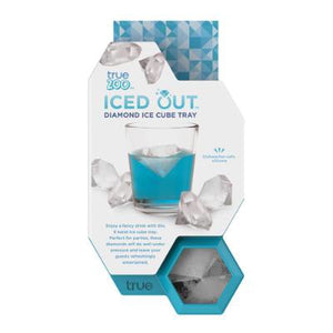 Iced out - Diamond ice cube tray