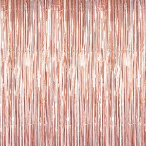 Rose gold bachelorette party backdrop canada