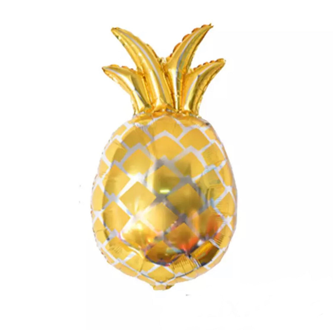 Jumbo pineapple balloon - gold