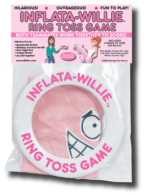 Inflata-Willie Ring Toss Game