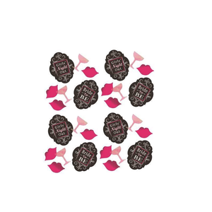 girl's night out bachelorette confetti canada