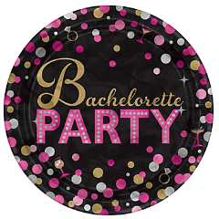 bachelorette party paper plate canada
