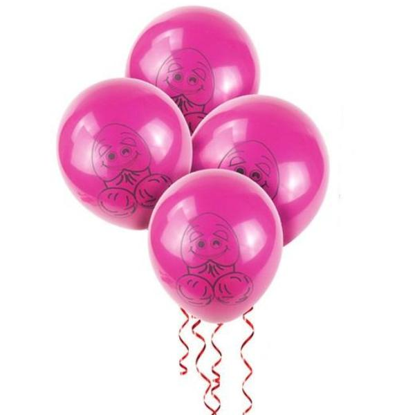 Bachelorette penis balloons canada pink