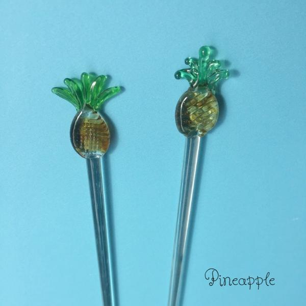 Glass pineapple stir sticks canada