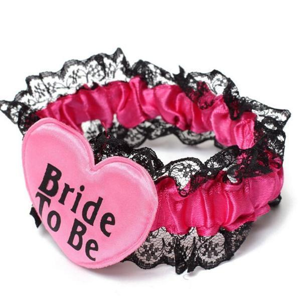 bachelorette bride to be garter