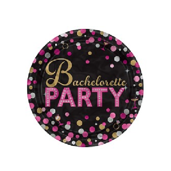 bachelorette party paper plates canada