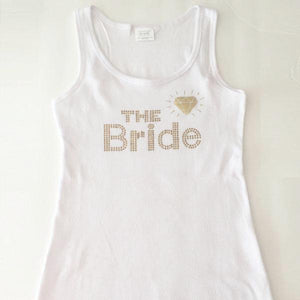 the bride tank top bachelorette