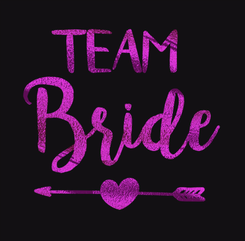 team bride tattoos - pack of 12