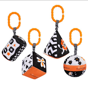 High Contrast Hanging Rattles