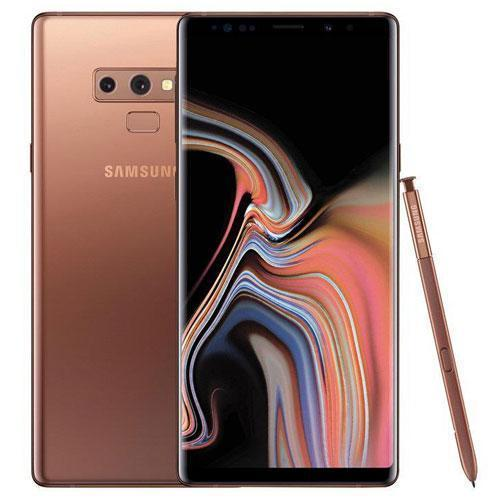 Samsung Galaxy Note 9 Dual SIM - 128GB, 6GB RAM, 4G LTE (Metallic Copper)