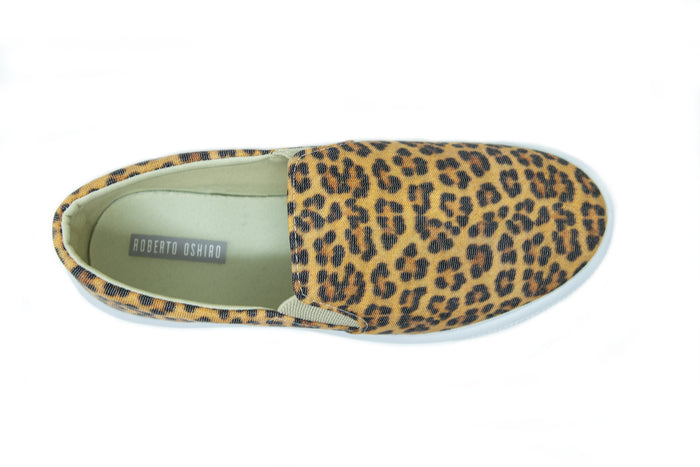 Sliper On Tecido Lona Animal Print
