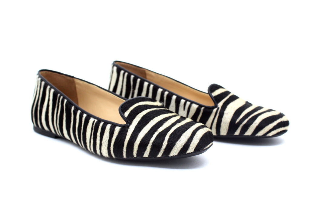 Sapatilha Slipper Animal Print Zebra