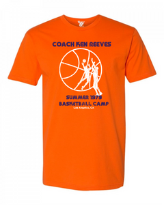 Ken Reeves Basketball Camp Tee