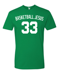 Basketball Jesus Tee