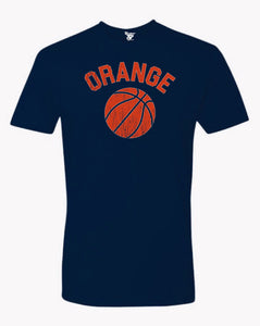 Orange Basketball Tee