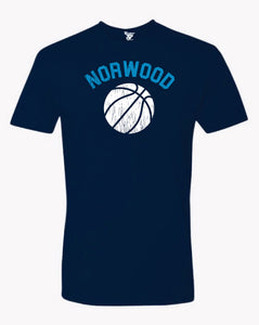 Norwood Basketball Tee