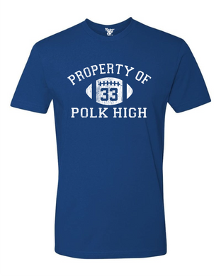 Polk High Football Tee