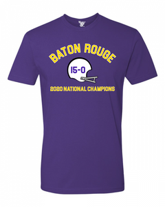 Baton Rouge National Champions Tee