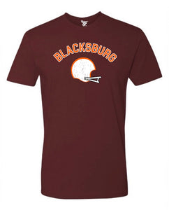 Blacksburg Football Tee