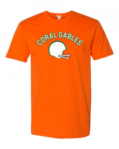Coral Gables Football Tee