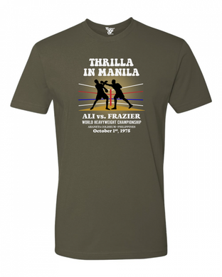 Thrilla in Manila Tee