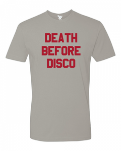 Death Before Disco Tee