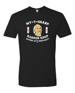 My-T-Sharp Barber Shop Tee