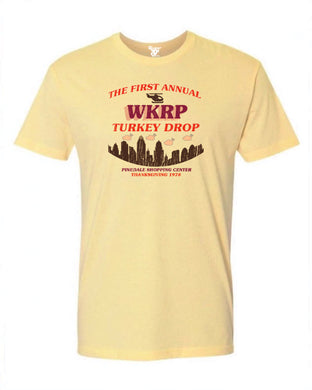 WKRP Turkey Drop Tee