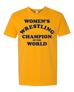 Women's Wrestling Champ Tee