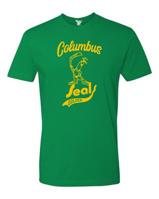 Columbus Golden Seals Tee