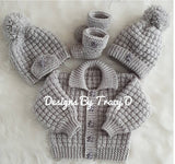 Noah Baby Knitting Pattern 0-12mths- Download - Designs By Tracy D