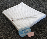 Zack Baby Blanket Knitting Pattern  - Download - Designs By Tracy D