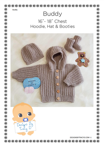 Buddy (Unisex) - Download - Designs By Tracy D