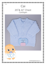Load image into Gallery viewer, 95. Cai (Unisex) - Download - Designs By Tracy D