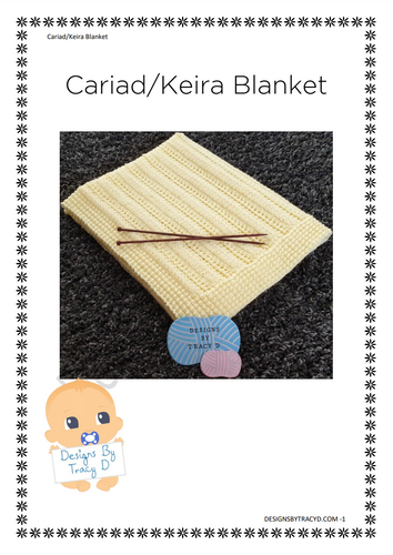 Cariad - Keira Blanket - Posted - Designs By Tracy D
