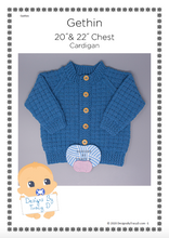 Load image into Gallery viewer, 97. Gethin (Unisex) - Download - Designs By Tracy D