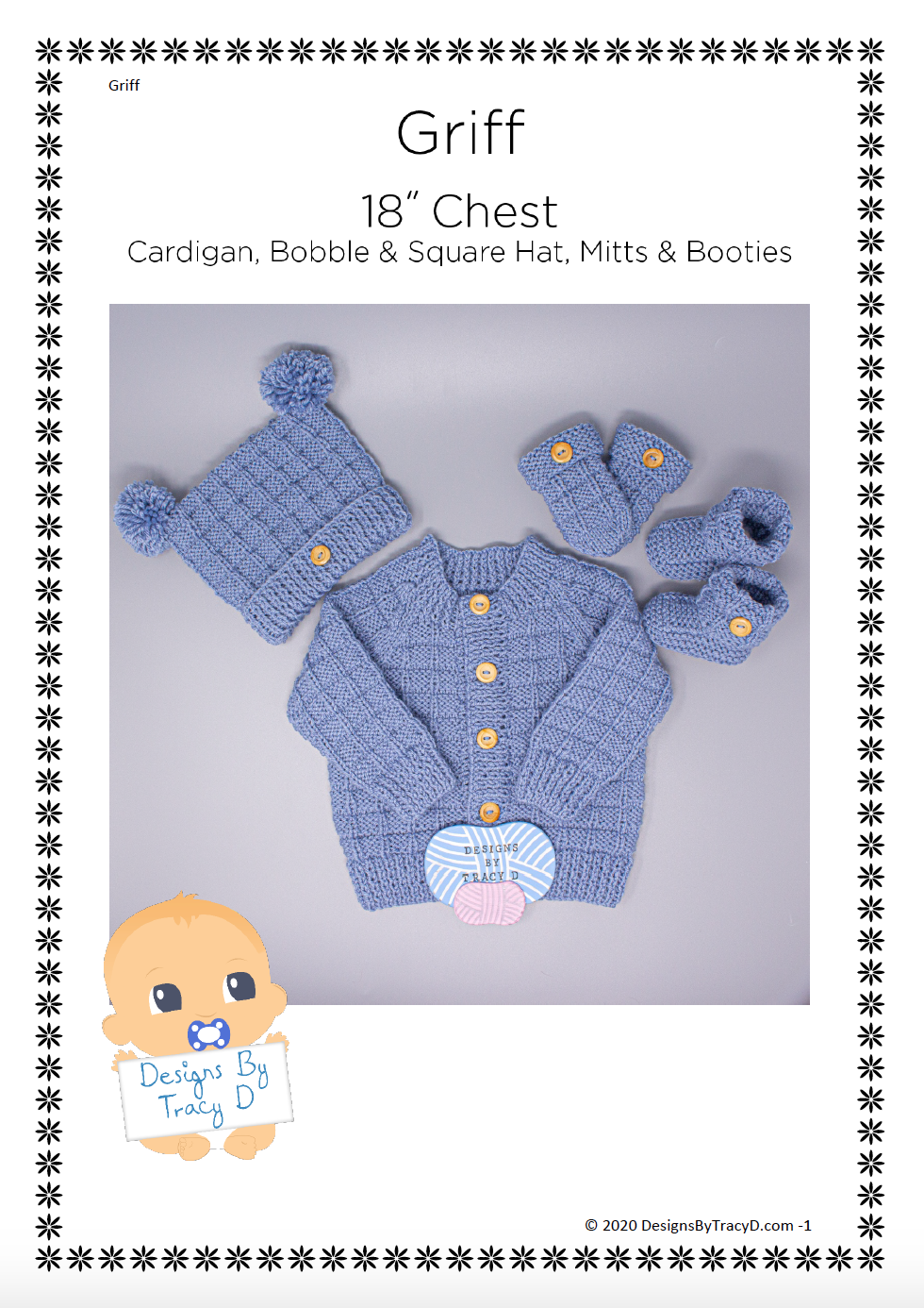 87. Griff (Unisex) - Download - Designs By Tracy D