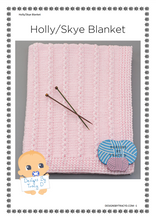 Load image into Gallery viewer, 68. Holly - Skye Blanket - Posted - Designs By Tracy D