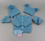 "Calum Unisex Baby Knitting Pattern 18"" chest  - Posted - Designs By Tracy D"