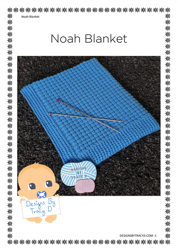 Noah Blanket - Posted - Designs By Tracy D