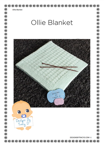 Ollie Blanket - Posted - Designs By Tracy D