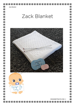 Load image into Gallery viewer, 38. Zack Blanket- Download - Designs By Tracy D