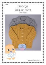 Load image into Gallery viewer, 103. George (Unisex) - Posted - Designs By Tracy D