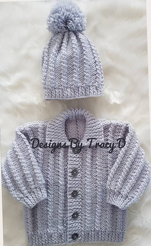 "Rohan Baby Knitting Pattern 16""- 18"" - Download - Designs ..."