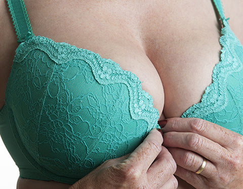 How do I prevent bra spillage