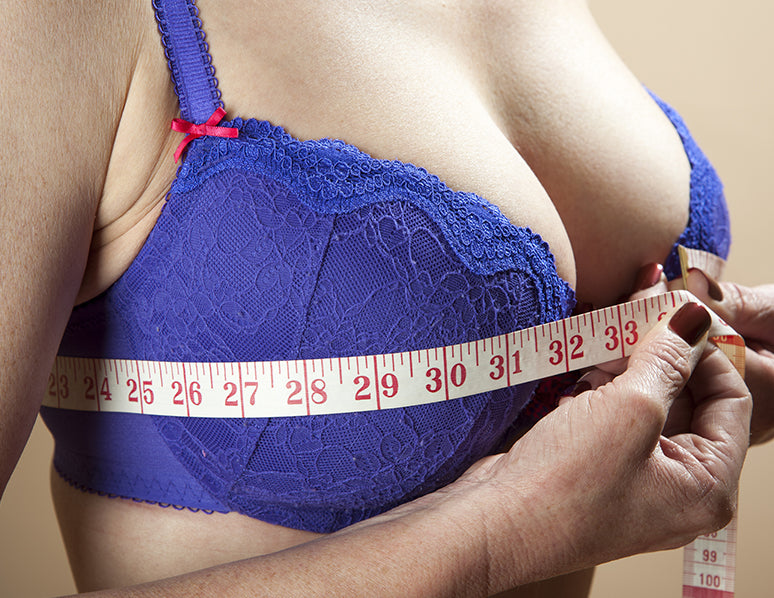 measure bra for correct band size