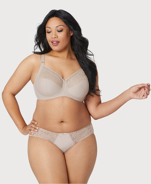 Size 46L NWOT Bramour Woman/'s Nude SOHO Full Coverage Bra