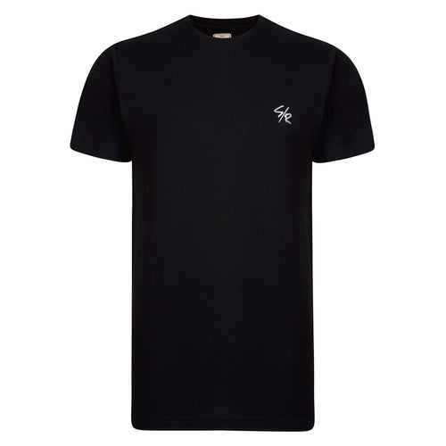 DEED LONGLINE T-SHIRT - BLACK